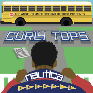 CURLY TOPS COVER
